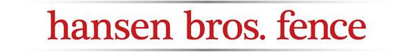 Hansen Bros. Fence Logo